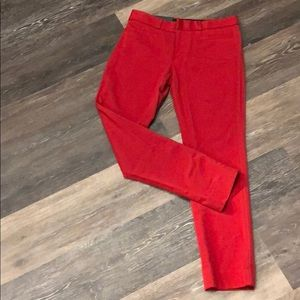 Red Banara Republic Sloan Pants (sz 2)